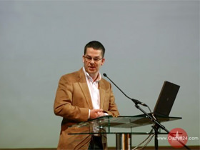 MD Nettom Tomasz Ziajka's presentation during the European Days of Promoting Entrepreneurship Among Young People.